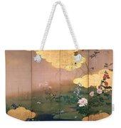 Flowers And Birds Of The Four Seasons Weekender Tote Bag