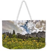 Flowers And Mountains And Sky...oh My Weekender Tote Bag