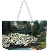 Flowers And Pool Weekender Tote Bag