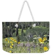Flowers At Crested Butte Weekender Tote Bag