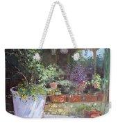 Flowers At Lida's Veranda Weekender Tote Bag