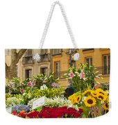 Flowers At Market Weekender Tote Bag