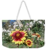 Flowers At The Farm Weekender Tote Bag