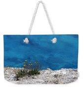 Flowers By The Blue Weekender Tote Bag