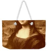 Flowers For Mona Lisa Weekender Tote Bag