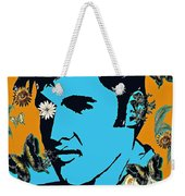 Flowers For The King Of Rock And Roll Weekender Tote Bag