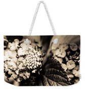 Flowers In A Jar Weekender Tote Bag by Marco Oliveira