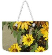 Flowers In Fall 2 Weekender Tote Bag