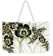 Flowers In The Antique Look Weekender Tote Bag