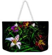 Flowers In The Garden Weekender Tote Bag