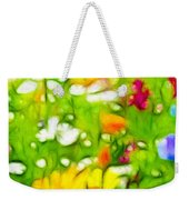 Flowers In The Garden Weekender Tote Bag