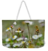 Flowers In The Hight Mountains. Weekender Tote Bag