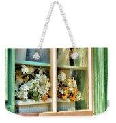 Flowers In The Window Weekender Tote Bag
