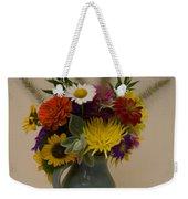 Flowers In Vase Weekender Tote Bag