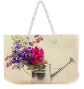 Flowers In Watering Can Weekender Tote Bag
