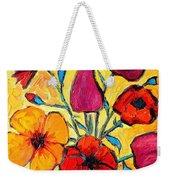Flowers Of Love Weekender Tote Bag by Ana Maria Edulescu