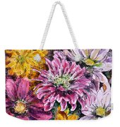 Flowers Of Love Weekender Tote Bag