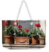 Flowers Of New York Weekender Tote Bag