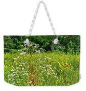 Flowers Of The Field Weekender Tote Bag