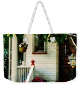Flowers On Steps Weekender Tote Bag