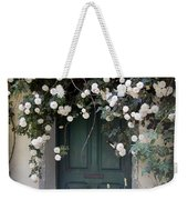 Flowers On The Door Weekender Tote Bag
