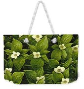 Flowers On The Skerwink Trail Weekender Tote Bag