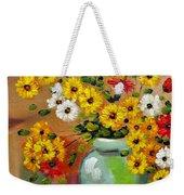 Flowers - Still Life Weekender Tote Bag