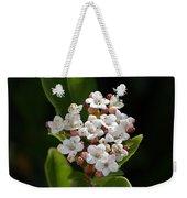 Flowers-tiny White Weekender Tote Bag