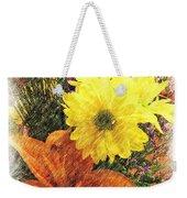 Flowers With Love Weekender Tote Bag