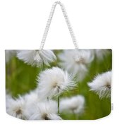 Flowery Cotton Weekender Tote Bag