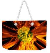 Flowery Flames Weekender Tote Bag