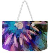 Flowery Illusion Weekender Tote Bag