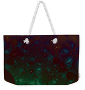 Flowery Night Sky Weekender Tote Bag