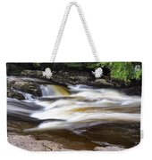 Flowing And Cascading At The Falls Of Dochart - Killin Scotland Weekender Tote Bag