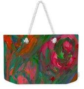 Flowing Color Weekender Tote Bag