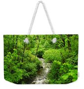 Flowing Down The Mountain Weekender Tote Bag