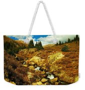 Flowing Down To Aspen Weekender Tote Bag