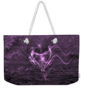 Flowing Heart Weekender Tote Bag