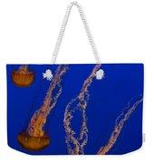 Flowing Pacific Sea Nettles 3 Weekender Tote Bag