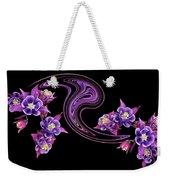 Flowing Purple Velvet 2 Weekender Tote Bag