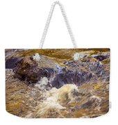 Flowing River Rapids Weekender Tote Bag