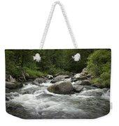 Flowing Stream In Vermont Weekender Tote Bag
