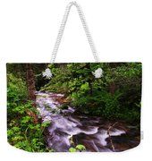 Flowing Through The Forest Weekender Tote Bag