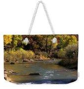 Flowing Through Zion National Park Weekender Tote Bag