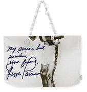 Floyd Paterson Weekender Tote Bag by Studio Artist