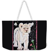 Fluffy And Thistle Weekender Tote Bag