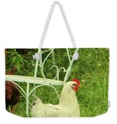 Fluffy Chicken Weekender Tote Bag