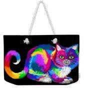 Fluffy Rainbow Cat 2 Weekender Tote Bag