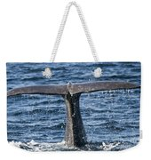 Flukes Of A Sperm Whale 2 Weekender Tote Bag by Heiko Koehrer-Wagner