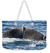 Flukes Of A Sperm Whale Weekender Tote Bag